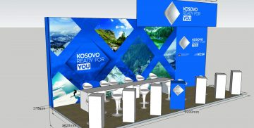 Kosovo stand at  ITB_Berlin_2018